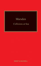 Marsden: Collisions at Sea 15th Edition