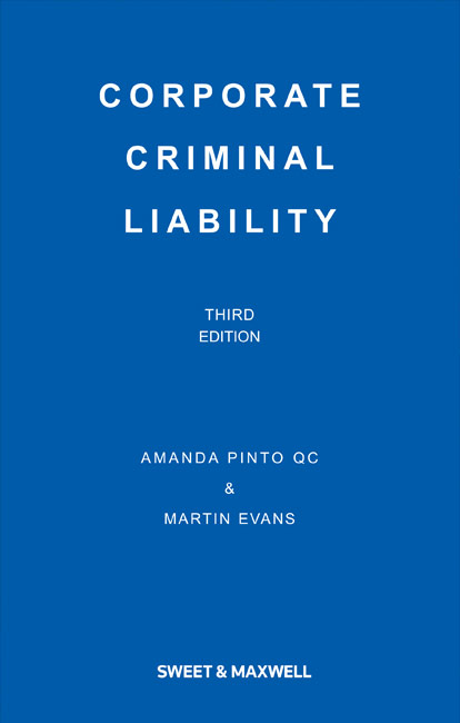 Corporate Criminal Liability 4th Edition