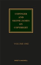 Copinger and Skone-James on Copyright 18e