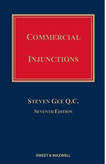 Gee on Commercial Injunctions 7th Edition