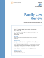 Family Law Review: Parts