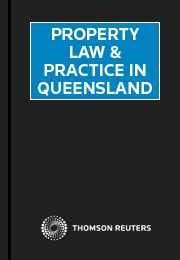 Property Law & Practice in Queensland Online