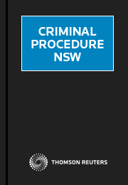 Criminal Procedure NSW Online