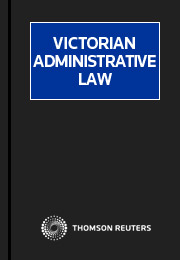 Victorian Administrative Law Looseleaf Only