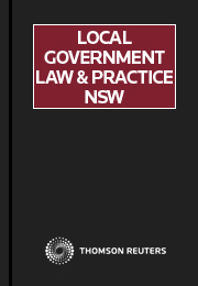 Local Government Law and Practice NSW Volumes 1-3