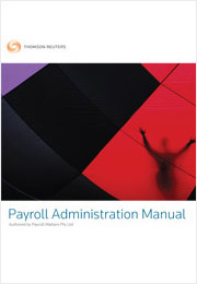 Payroll Administration Manual CD & Paper