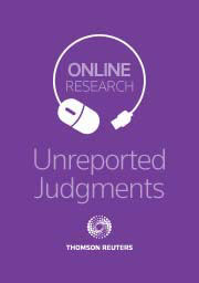 Unreported Judgments Online