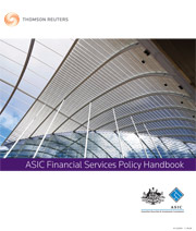 ASIC Financial Services Policy Handbook: Paper