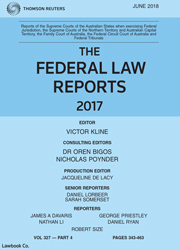 Federal Law Reports Parts & Bound Volumes