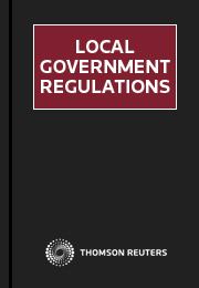 Local Government Regulations NSW 1 Volume