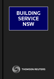 Building Service NSW 4 Volume Option: Volumes 1-4