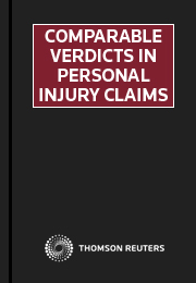 Comparable Verdicts In Personal Injury Claims: Britts