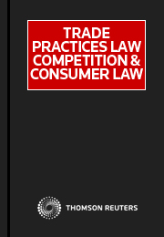Trade Practices Law Competition and Consumer Law