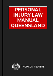 Personal Injury Law Manual Queensland Online