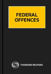 Federal Offences Volumes 1 - 4