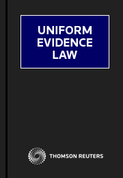 Uniform Evidence Law Online