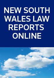 New South Wales Law Reports (NSWLR) Online