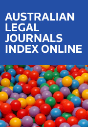 Australian Legal Journals Index Online