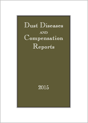 Dust Diseases & Compensation Reports Parts & Bound Volumes