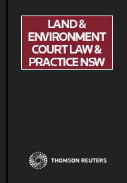 Land & Environment Court Law & Practice NSW Online