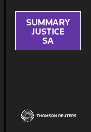 Summary Justice South Australia Online
