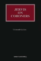 Jervis on Coroners 13th Edition