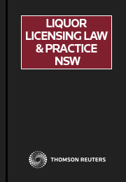 Liquor Licensing Law & Practice NSW