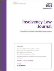 Insolvency Law Journal