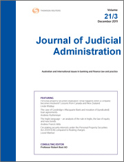 Journal of Judicial Administration: Online
