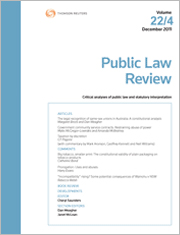 Public Law Review: Online