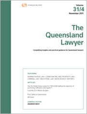 The Queensland Lawyer: Online