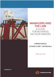 Managers & the Law A Guide for Business Decision Makers, 3rd Edition