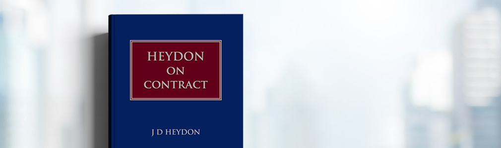 Heydon on Contract