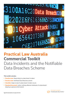 Data Incidents and the Notifiable Data Breaches Scheme