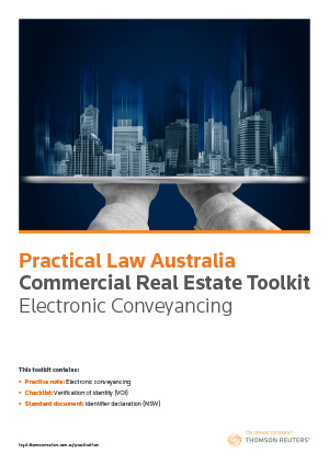 Toolkit: Electronic Conveyancing