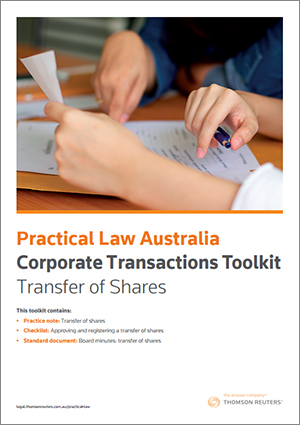 Transfer of Shares