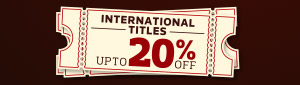 Up to 20% off International Books & eBooks