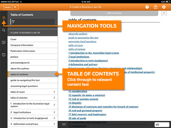 proview ereader access trusted legal content on the go