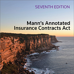 Insurance Law Books Ebooks Thomson Reuters Legal Australia